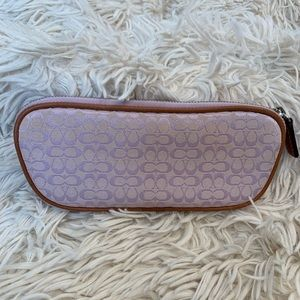 COACH zipped case for glasses or smalls